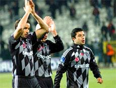 Beşiktaş Sivas'ı tek golle yendi
