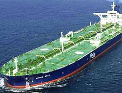Korsanlar süper tankeri ele geçirdi