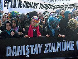 Binlerce kişi Danıştay'ı protesto etti