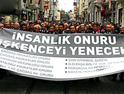 Avukatlar işkenceye karşı yürüdü