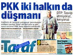 Gazetelerin Birinci Sayfalarında Reşadiye Saldırısı