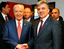 Peres Gül'le buluştu!