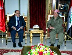 Atalay, Erbil'de Mesud Barzani ile görüştü
