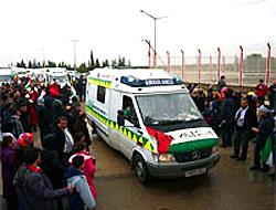 Filistin Konvoyu, Mısır'a ulaştı