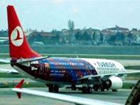 THY uçağı Barcelona renklerinde!