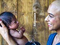 Hamile kadın bebeği sayesinde kanseri yendi