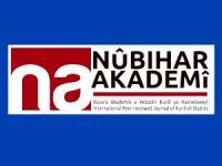 Nûbihar Akademî dergisinin 4. sayısı çıktı