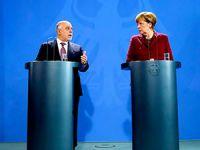 Merkel ve İbadi: 'Bağımsız Kürdistan'a hayır'