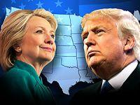 ABD başkanlık ön seçimleri: Clinton dört, Trump beş eyalette kazandı