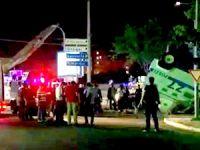 Diyarbakır'da zırhlı araç devrildi: 3 polis yaralandı