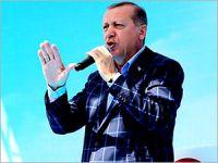 Erdoğan: ABD'nin YPG'ye verdiği desteği kınıyorum