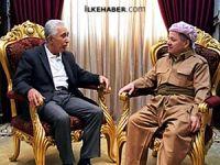 Mesud Barzani Mehdi Zana'yı kabul etti