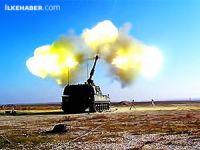Türkiye Suriye'de IŞİD ve YPG'yi vurdu