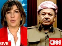 Mesud Barzani CNN International'a konuştu