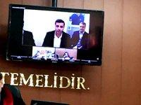 Demirtaş SEGBİS'i reddetti, duruşma ertelendi
