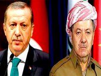 Erdoğan'dan Mesud Barzani'ye taziye telefonu
