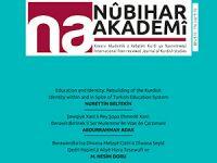 Nûbihar Akademî Dergisinin 5. sayısı çıktı