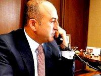 Çavuşoğlu Lavrov'la telefonda görüştü