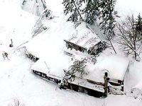 İtalya'da çığ felaketi; 30 kişi kayıp