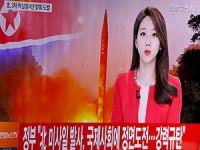 Kuzey Kore, balistik füze denemesi gerçekleştirdi
