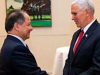 Barzani  ABD Başkan Yardımcısı Pence ile görüştü