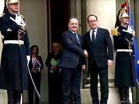 Barzani, Elysee Sarayı'nda Hollande ile görüştü