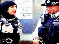 İskoçya'da kadın polislere başörtüsü izni