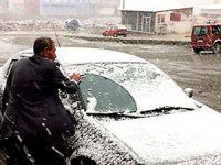 Van'da mayıs ayında kar sürprizi