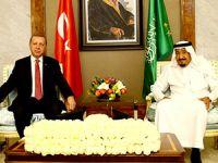 Cumhurbaşkanı Erdoğan ile Kral Selman bir araya geldi