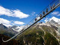 Dünyanın en uzun asma köprüsü açıldı