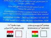 Referandum için 4 dilde pusula basıldı