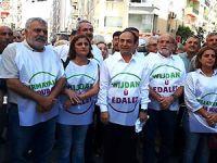 HDP'nin 'Vicdan ve Adalet Nöbeti' İzmir'de