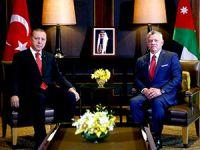 Erdoğan Kral Abdullah'la görüştü