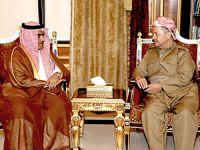 Barzani Suudi heyetini kabul etti
