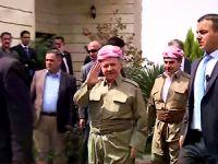 Mesud Barzani Süleymaniye'yi ziyaret etti