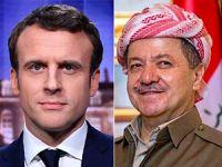 Barzani ile Macron telefonda görüştü