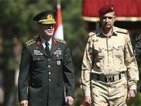 Irak Genelkurmay Başkanı, Hulusi Akar ile görüştü