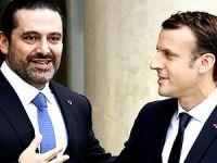 Lübnan Başbakanı Hariri Paris'te Macron ile görüştü
