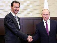Putin ile Esad, Rusya'da görüştü