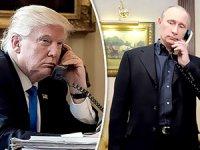 Trump'tan Putin'e teşekkür telefonu