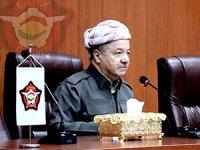 Barzani, Anti-terör birliklerini ziyaret etti