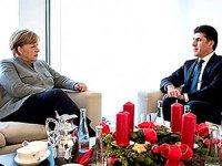 Neçirvan Barzani, Merkel ile görüştü