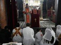 Diyarbakır'ın Sur ilçesinde Noel ayini yapıldı