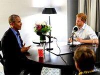 Prens Harry sordu Barack Obama yanıtladı