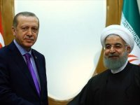 Erdoğan ile Ruhani Afrin'i görüştü