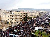 Efrin'de halk operasyona karşı yürüdü