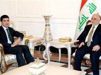 Neçirvan Barzani, İbadi ile görüştü