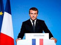 Macron'dan: Kürdistan'a uçuş yasağı acilen kaldırılsın