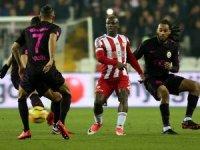 Galatasaray Sivasspor'a mağlup oldu