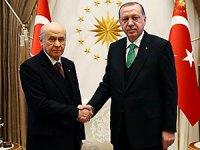 Erdoğan ve Bahçeli'nin ittifak görüşmesi sona erdi